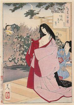A Glimpse of the Moon  Kaimani no tsuki