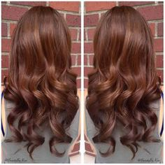 """"""" Warm Chestnut Brown Hair Color For My Beautiful Bride! ✨ The perfect natural color for her special day...tomorrow! Bridal pictures coming…"""""""