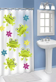 Frog Shower Curtain Hooks