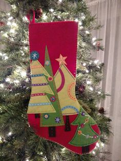 Angel of Joy Christmas stocking marked down 50 from original