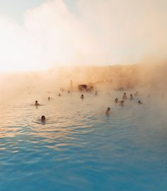 Miss this place so much! Who wants to go with me again? #bluelagoon #iceland
