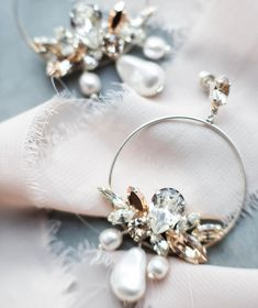 We LOVE a bride who rocks some statement earrings! ✨Pair them with a simple dress or an ornate dress - they work either way. It's just such a fun way to add a pop of style to a bridal look and these gems you can also wear with jeans after the wedding! . Beautiful jewelry with Swarovski crystals from @whitejasmineaccessories. Photo credit to @fotografkasia with team @shy_ribbons @kmweddingplannerpoland & @blaszkowskaphoto Sustainable Clothing, Bridal Looks, Slow Fashion, Simple Dresses, Scandinavian Design, Statement Earrings, Swarovski Crystals, Product Launch, Gems