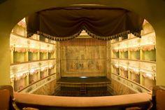 Teatro Carlo Goldoni (vista dal palco d'onore) #Bagnacavallo
