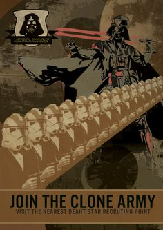 Star Wars Recruiting poster - by Benjides - it's super annoying that death is spelled wrong, though.