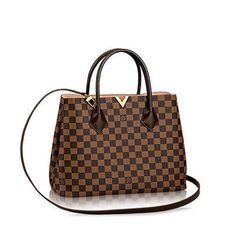 Kensington - Damier Ebene Canvas - Handbags   LOUIS VUITTON Women s  Handbags, Brown Handbags, e3278e7b7e4