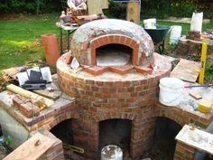 awesome wood oven