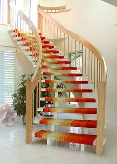 Escaleras de alfombra en pinterest tapetes de escalera - Alfombra para escalera ...