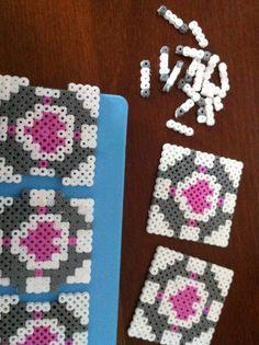 How to make a pegboard bead box. Hama Bead Portal Box - Step 5