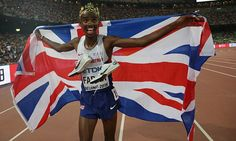 Mo Farah has become the first man to win a third 5,000m and 10,000m double, after repeating his feat from London 2012 and Moscow 2013
