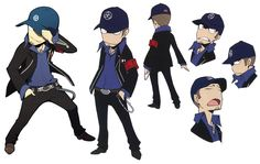 Persona Q: Shadow of the Labyrinth - Junpei Iori