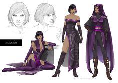 commission: Selika Roh Character Sheet by MathiaArkoniel.deviantart.com on @DeviantArt