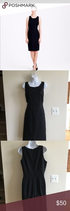 J Crew Emmaleigh dress size 10 NWT J Crew Emmaleigh dress in super 120s black wool size 10 brand new with tags.style number is 24155  I except returns within 14 days J Crew Dresses Midi