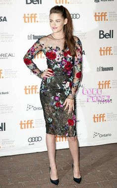Kristen Stewart is back and looking better than ever!  On Thursday night, the actress attended the Toronto International Film Festival premiere of her new flick, On The Road, and she cleaned up...