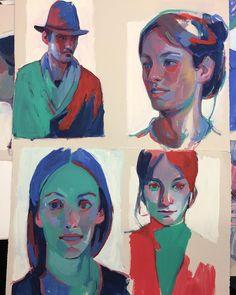 """Polubienia: 9,528, komentarze: 68 – aryz (@mr_aryz) na Instagramie: """"Color studies on paper #aryz"""""""