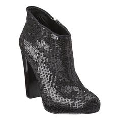 Outta my size but I love these sparkling booties!!! 9 West's Delly.