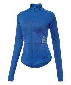 Look what I found on #zulily! True Blue Powershape Jacket - Women #zulilyfinds