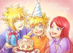 Interview with Naruto Voice Actress Junko Takeuchi Naruto Minato, Naruto Gaiden, Naruto Cute, Uzumaki Family, Naruto Family, Naruto Fan Art, Naruto Birthday, Happy Birthday, Naruto The Last