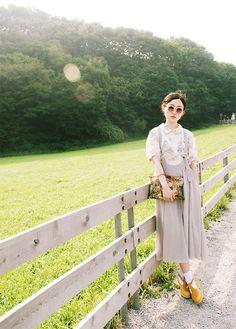 Summer's ranch (by Minji Kim) http://lookbook.nu/look/2296487-summer-s-ranch