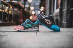 Closer look at the ASICS Gel-Lyte III x Ronnie Fieg Homage. Coming 23rd December. http://ift.tt/1Zn50MN