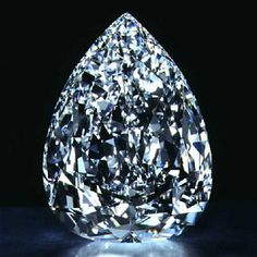 "One of the most famous diamonds in the world, Cullinan I was justly considered the largest diamond in the world up to the discovery of the Golden Jubilee. Also known as ""The star of Africa"", the pear-shaped stone is the largest of the 9 diamonds cut from the largest rough diamond ever, the Cullinan diamond(3106,75 carats). Currently, it is the head of St. Edward's scepter, one of the British Crown Jewels but it can be removed and worn as a brooch."