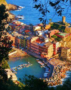 Amazing Vernazza Cinque Terre Italy