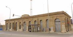 Patrimonio Industrial Arquitectónico: Noticias sobre la Estación del Grao de Valencia, u...