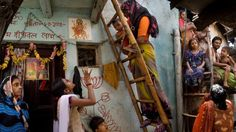 """Veteran Indian photographer Raghu Rai has been working with Save the Children for the past three years on its campaign to reduce child deaths in India. As part of the project, Mr Rai went to Delhi slums to """"capture the deplorable condition of health among women and children""""."""