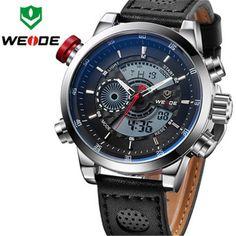US $52.09 - 2017 Style WEIDE Sports Watch Fashion Casual Watch Quartz Digital LED Clock Men Military Relojes De Marca Erkek Saat Men Watches