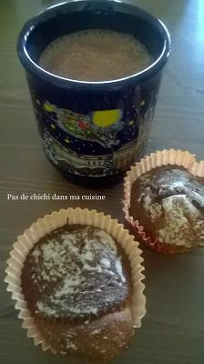 Muffins aux marrons enneigés Muffins, Mugs, Breakfast, Tableware, Kitchen, Food, Conkers, Greedy People, Kitchens