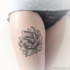 45 Best Lotus Flower Tattoos