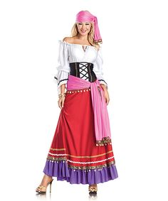 This Tempting Gypsy Costume Set - Women by Be Wicked! is perfect! #zulilyfinds
