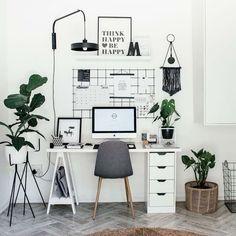 47 Inspiring Home Office Organization Ideas – Office Room Home Office Space, Home Office Design, Home Office Decor, Home Decor, Office Decorations, Office Workspace, Home Office Bedroom, Home Ideas Decoration, Decorating Office