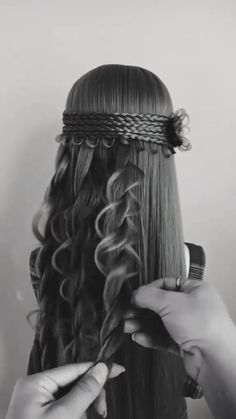 Formal Hairstyles For Long Hair, Up Hairstyles, Braided Hairstyles, Front Hair Styles, Medium Hair Styles, Hair Tutorials For Medium Hair, Competition Hair, Girl Hair Colors, Stylish Hair