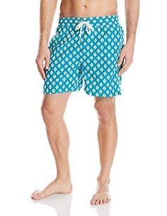 cf0329caec2 Introducing Kanu Surf Mens Capri Swim Trunk Aqua Large. Grab Your Swimsuits  Here and follow