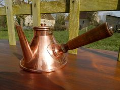 French Vintage Copper Chocolate Pan.  by AngelFrenchAntiques, £35.00