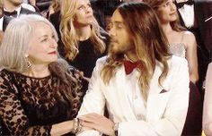Their relationship was almost TOO adorable to bear: | 27 Reasons Jared Leto Was The Absolute Best Person During All Of Awards Season