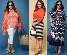 Fashion Tips for Plus-Size Women : Summer Fashion for Plus Size. body,fashion,plus-size,tips Curvy Plus Size, Plus Size Girls, Plus Size Women, Plus Size Fashion Blog, Curvy Women Fashion, Womens Fashion, Simply Fashion, Ladies Fashion, Plus Zise