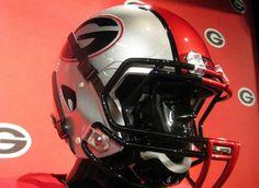 New UGA Georgia Football Helmet Nike 2011 Photo