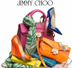 JIMMY CHOO BAG AND SHOES