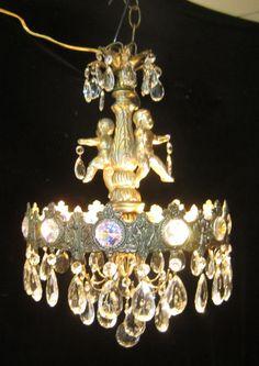Cherub ab chandelier