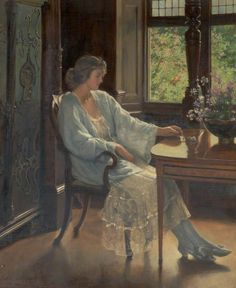 Painting is silent poetry.: John Collier