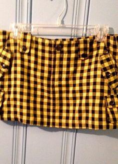 Buy my item on #vinted http://www.vinted.com/womens-clothing/mini-skirts/18372956-black-yellow-mini-skirt-abbey-dawn