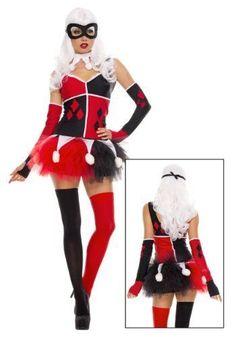 Harley Quinn Halloween Costume for Women