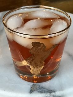 The Mickie Walker is a nice and easy scotch based cocktail that makes good use of lesser quality scotches by turning them into a tasty cocktail!