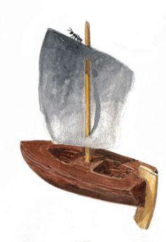 Viking toy boat (?) - Sweden