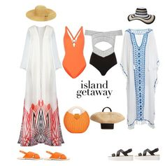 """""""Beach Duo"""" by billabongrulez88 ❤ liked on Polyvore featuring Proenza Schouler, River Island, Matisse, MANGO, Dorothy Perkins and Eugenia Kim"""