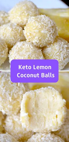 Keto Lemon Coconut Balls These Best Keto Cookie Recipes contains so many delicious low carb cookie recipes that are gluten free, and many come with dairy free and Pa. Keto Cookies, Keto Chocolate Chip Cookies, Cookies Et Biscuits, Bacon Cookies, Coconut Cookies, Chocolate Fudge, Low Carb Desserts, Low Carb Recipes, Fast Recipes