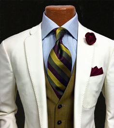 Being well dressed is a sign of respect... For those you engage and... Yourself!! - The Gentleman's Way