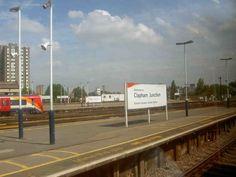 Clapham Junction Railway Station (CLJ) in Battersea, Greater London