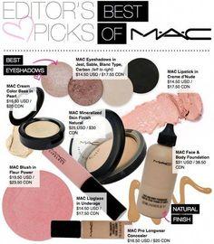 Best of MAC #bestmacmakeup Best Mac Makeup, Makeup List, Love Makeup, Basic Makeup, Latest Makeup, Mac Makeup Looks, Elf Makeup, Amazing Makeup, All Things Beauty